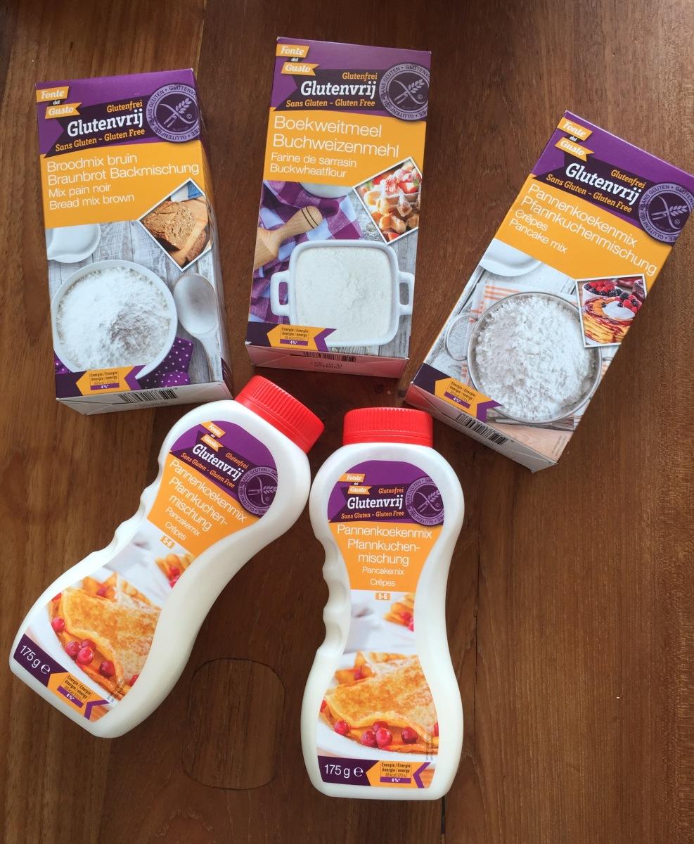 Glutenvrije producten Action