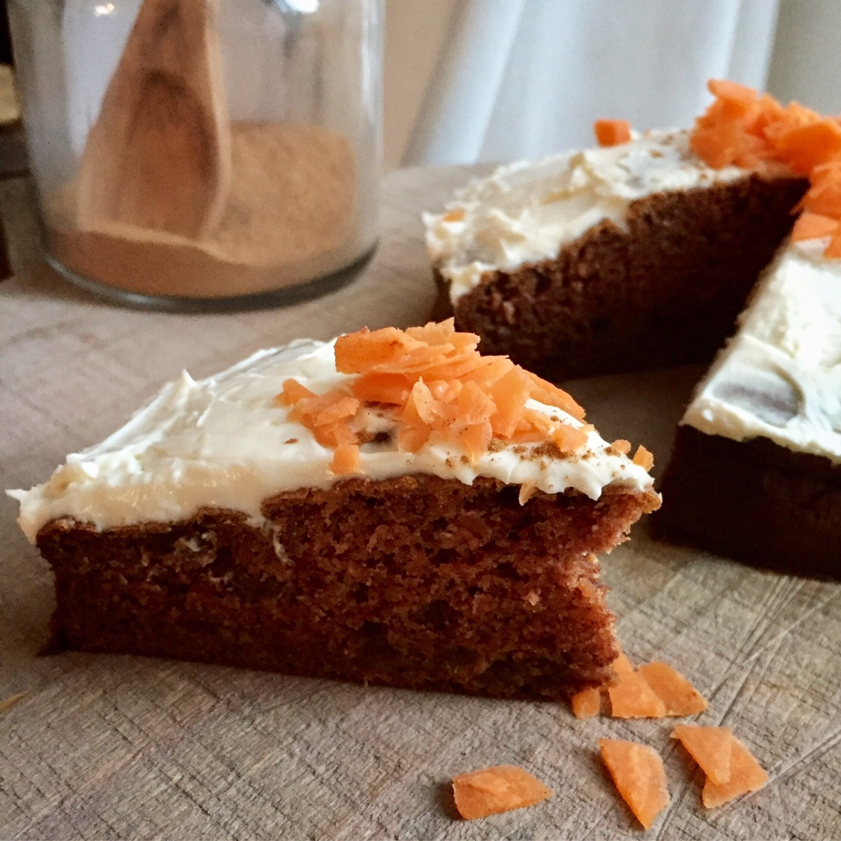 Healthy carrotcake - zonder geraffineerde suiker
