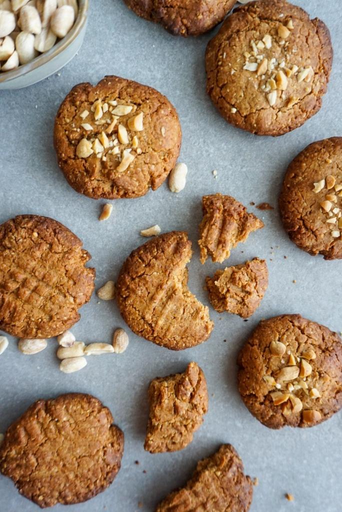 Pindakaas koekjes - peanutbutter cookies